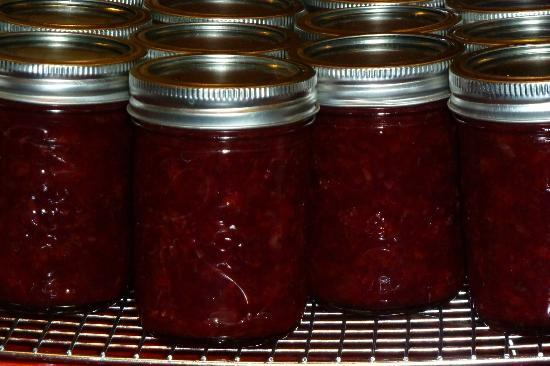 The Old Rectory: Local Strawberries canned & ready for waffles in the wintertime.
