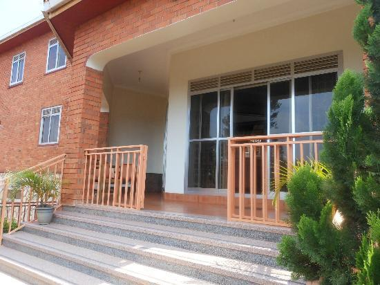 Adonai House: The terrace at Adonai 3 Guesthouse