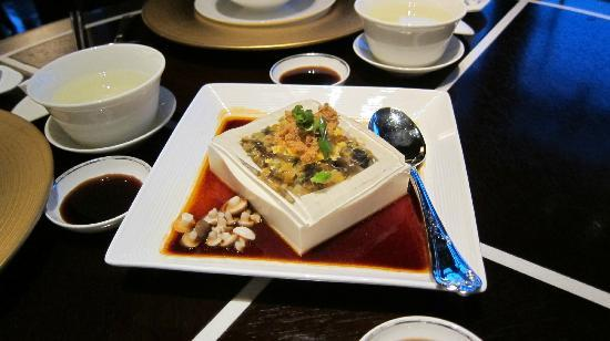 Jin Sha (Four Seasons Hotel Hangzhou at West Lake): Excellent Crystal Tofu