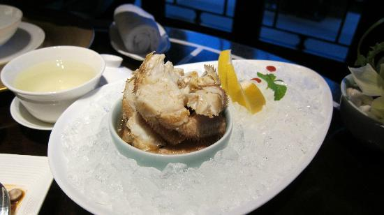 Jin Sha (Four Seasons Hotel Hangzhou at West Lake): Cold crab appetizer