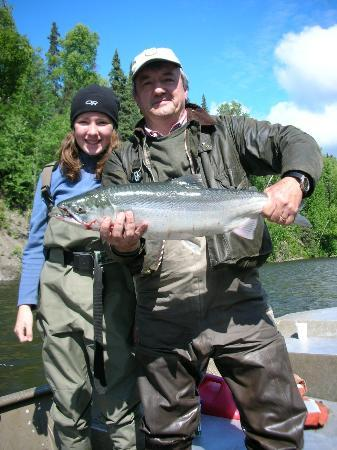 Alaska Fishing Lodge - Wilderness Place Lodge: The First Silver