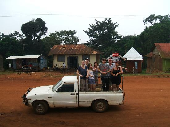 Adonai House: Way to go! - in Kampala Road, Kalangala, Sesse Islands - the only way to get to the training cen