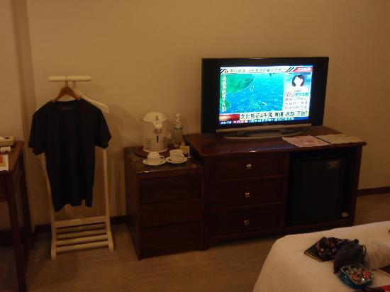 Hotel Tainan: room