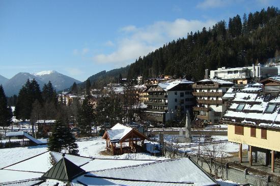 Panorama dalla camera del Relais des Alpes