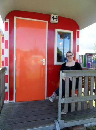 Camping Zeeburg: The wagonette