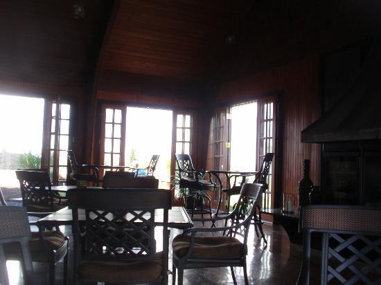 Interior Anyela's Vineyards tasting rooms