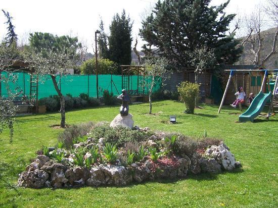 Hotel Le Mas Fleuri: jardin
