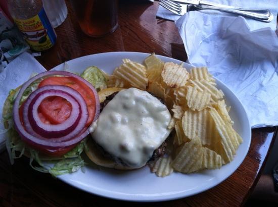 The Quarter: all American hamburger
