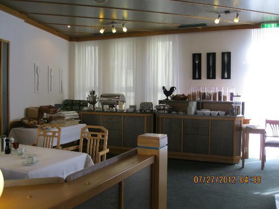 Brita Hotel Stuttgart: Brita Hotel breakfast