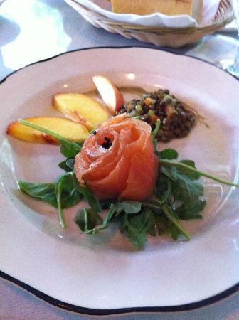 Cafe Degas: Salmon and Caviar
