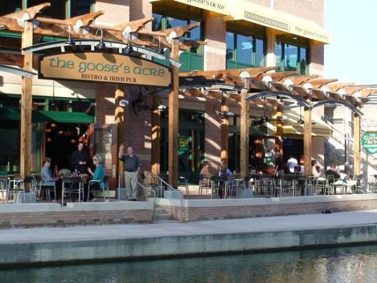 The Goose's Acre: outdoor patio (photo courtesy of GA Facebook page)