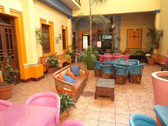 Casa Vilasanta: Hall de descanso