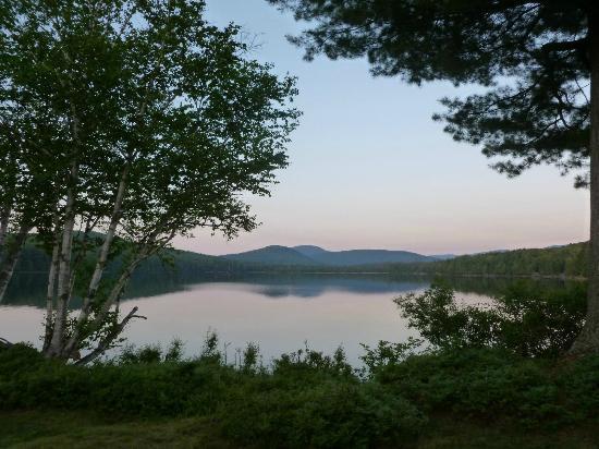 Great Camp Sagamore: Sunset on Lake Sagamore