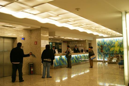 Hotel Benidorm: recepcion