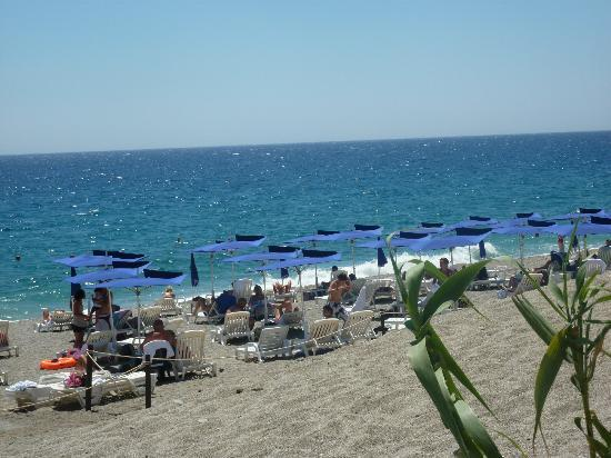 Hotel Baia Taormina: Spiaggia convenzionata