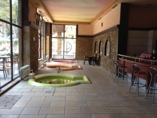 Maxi Park Hotel & Spa: soaking pools