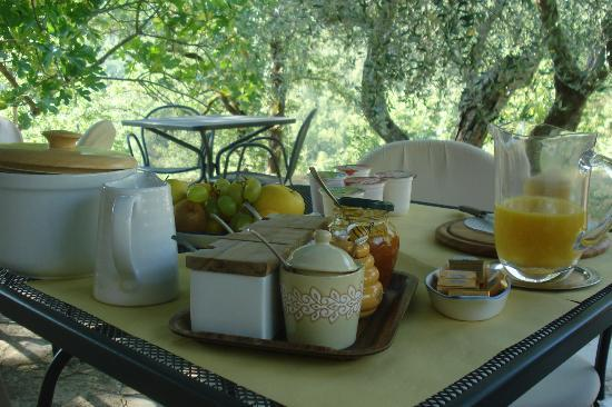 Locanda La Capannuccia: Breakfast