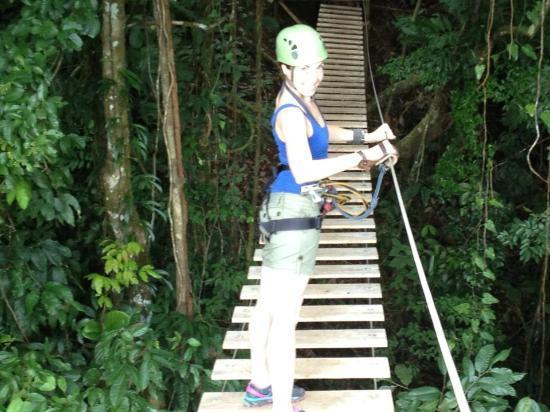Osa Canopy Tour: SUSPENTION BRIDGE AT OSA CANOPY