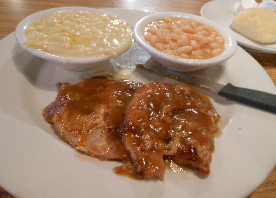 Dalton's Grill: Pork Chops & sides
