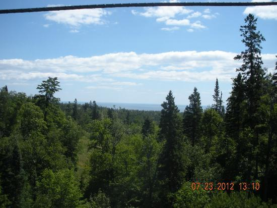 Eagle Ridge at Lutsen Mountain: One of the many lovely views from the resort.