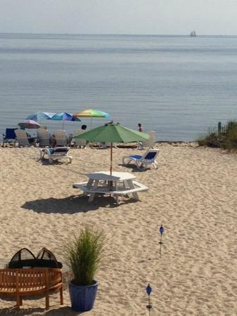 Sandbars on Cape Cod Bay: More of private beach at Sandbars