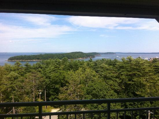 Bluenose Inn - A Bar Harbor Hotel: View from Balcony room #333