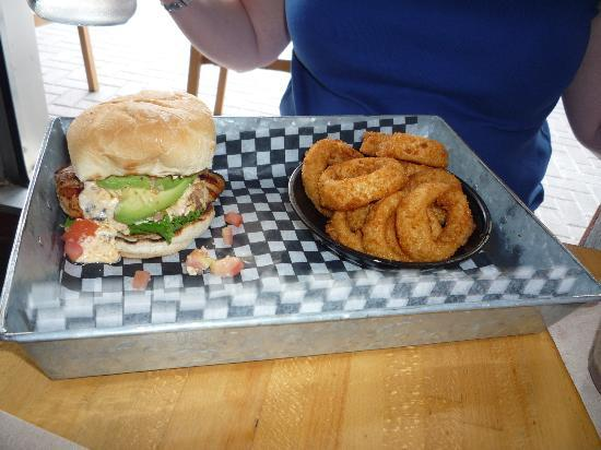 The Works: BAB? with onion rings