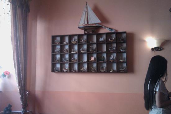 โรงแรมโคลัมโบ: sala di ingresso con me