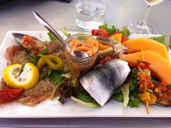 Le Bouchon du Marché : Salade de la Mer