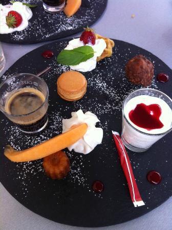 Le Bouchon du Marché : Café gourmand