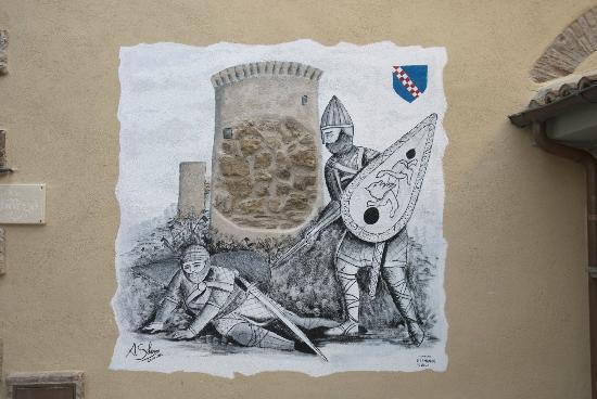 B&B del Borgo: Murales su Prospetto Principale