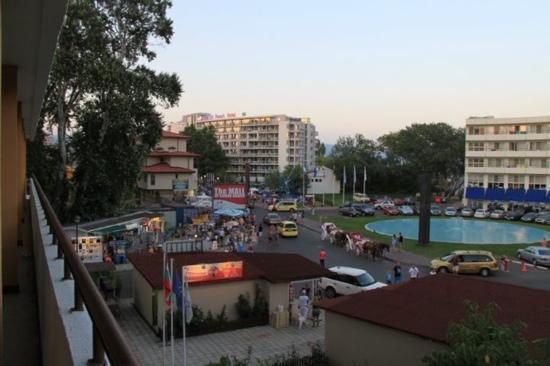 Hotel Olymp: utsikt fra hotelrommet