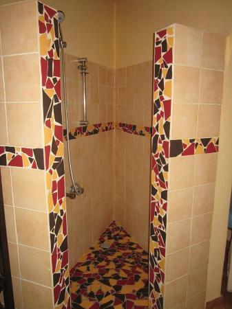Gite l'Anacardier: Shower