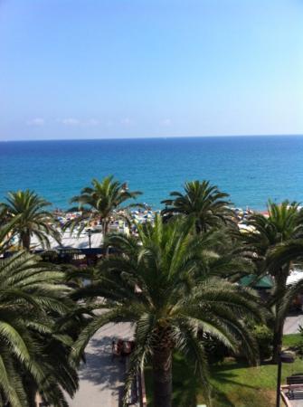 Hotel Gambone : Camera vista mare