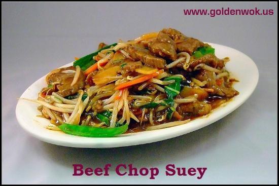 Glen Ellyn, IL: Beef Chop Suey