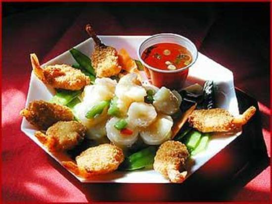 Golden Wok II: Shrimp Double Treat