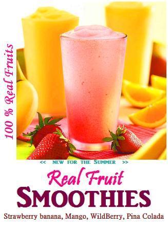 Golden Wok II: Real Fruit Smoothies