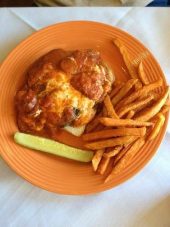 The Onion Grille: Knife and Fork Burger
