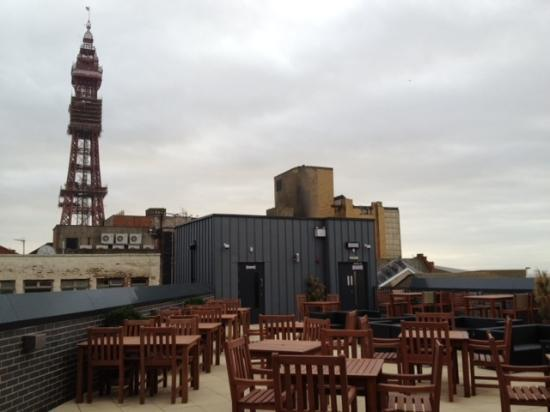 The Layton Rakes: VIEW FROM ROOF TERRACE