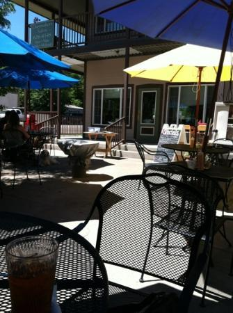 Kate's Place: on patio