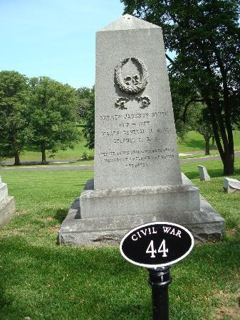 "Bellefontaine Cemetery: Union Maj General Andrew Jackson Smith ""a soldier who never met defeat"""