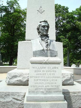 Bellefontaine Cemetery: William Clark - explorer