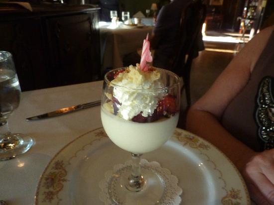 Belvedere Inn & Restaurant: Spectacular dessert