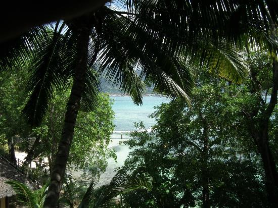 Cerf Island Resort: View from a lower suite