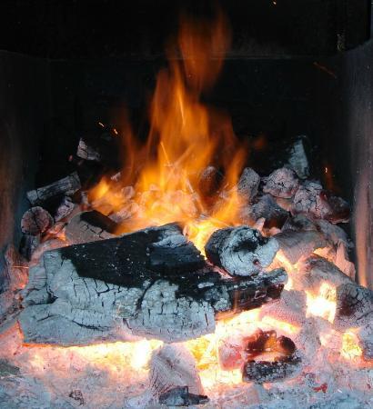 Punta Brasas: Fuego