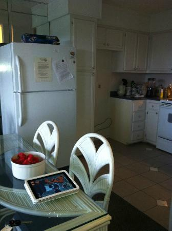 Hilton Head Island Beach & Tennis Resort: Replacement fridge in dining room