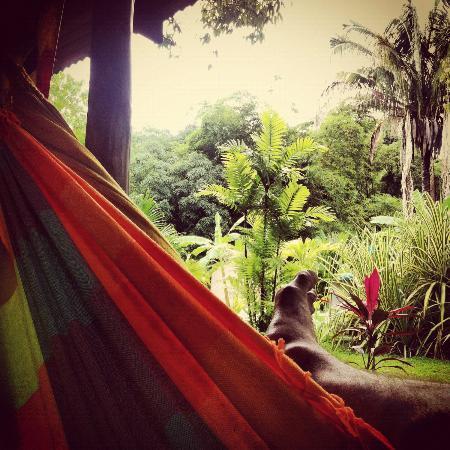 Hotel Luz de Luna : farniente en el hamaca