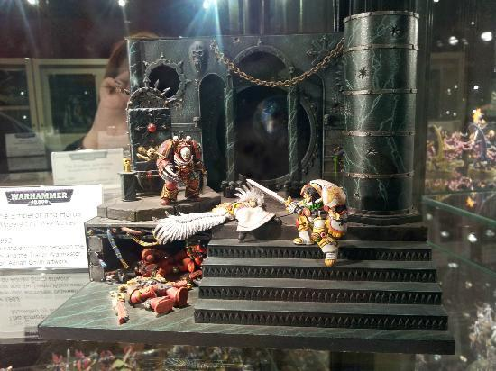 Games Workshop Warhammer World: From the minatures hall