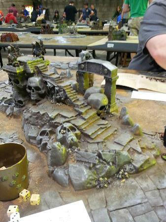 Gaming table - Picture of Games Workshop Warhammer World
