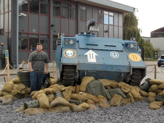 Rhino Tank With One Very Happy Husband Picture Of Games
